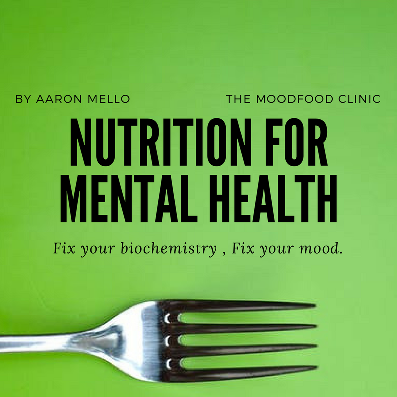 Nutrition for Mental Health: Guest Post from Aaron Mello of MoodFood Clinic