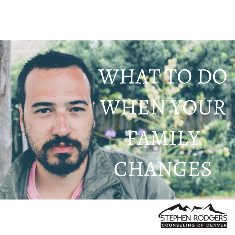What to Do When Your Family Changes