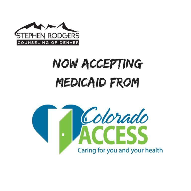 Medicaid Accepted – Therapy For Men at Stephen Rodgers Counseling