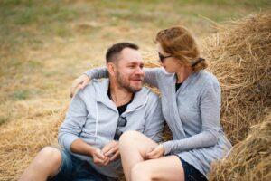 man, relationship, gender role, gender role stress, ptsd, talking, together
